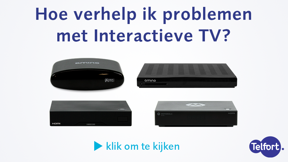 Problemen Met Interactieve Tv Oplossen Video Telfort