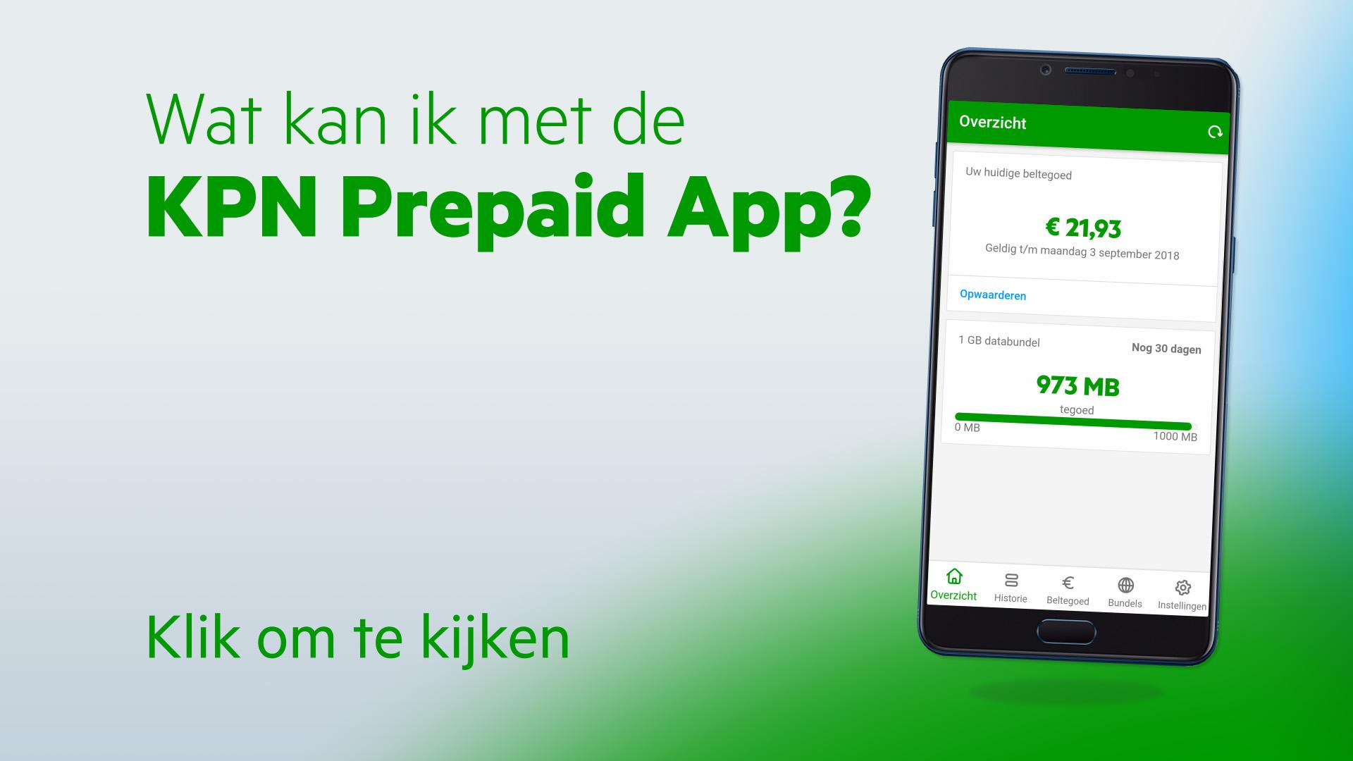 Nieuwe aansluiting app 2015